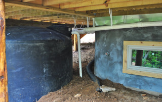 1500 Gallon Tank Under the Deck | Higher Ground Chattanooga