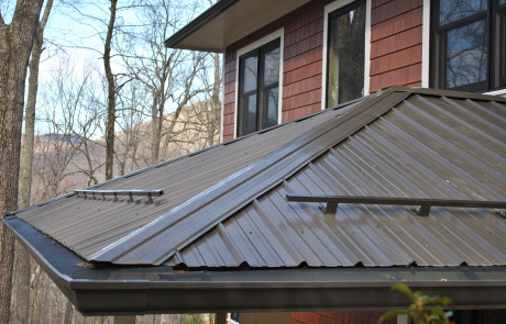 Gutter Protection on Metal Roofs | Higher Ground Chattanooga