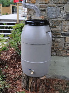 Higher Ground of Chattanooga Rain Barrel