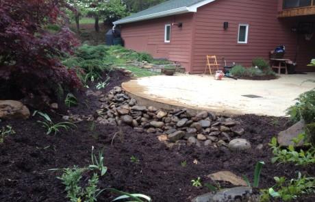 Rain Garden Empty | Higher Ground Chattanooga