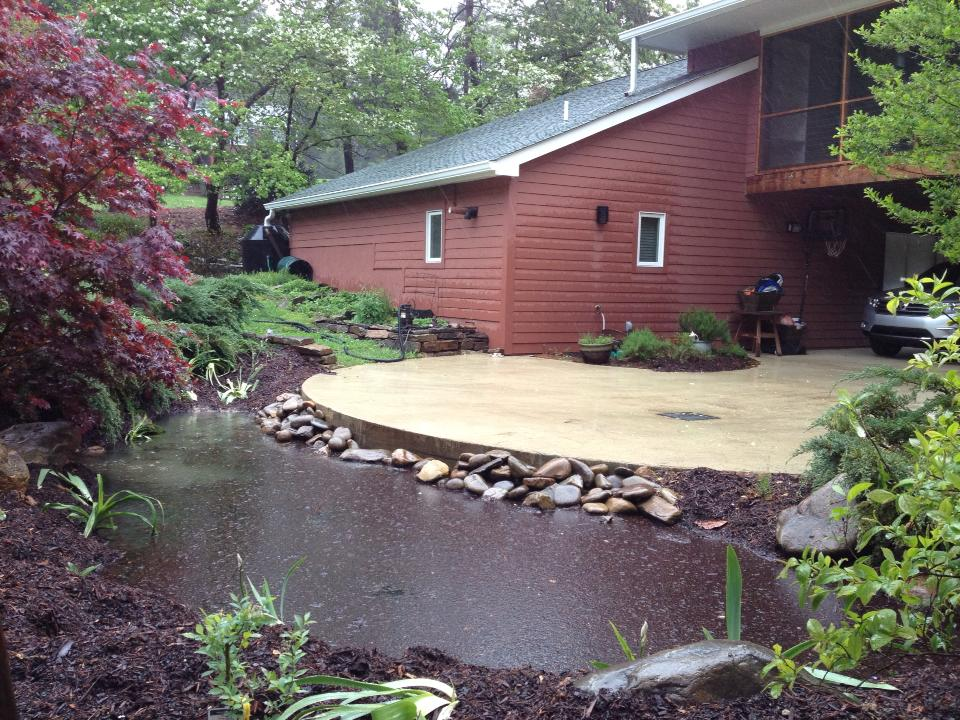 Full Rain Garden | Higher Ground Chattanooga