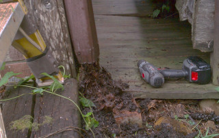 Not cleaning the downspouts can lead to costly repairs down the road | Higher Ground Chattanooga