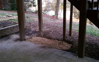 Patio Drainage | Higher Ground Chattanooga