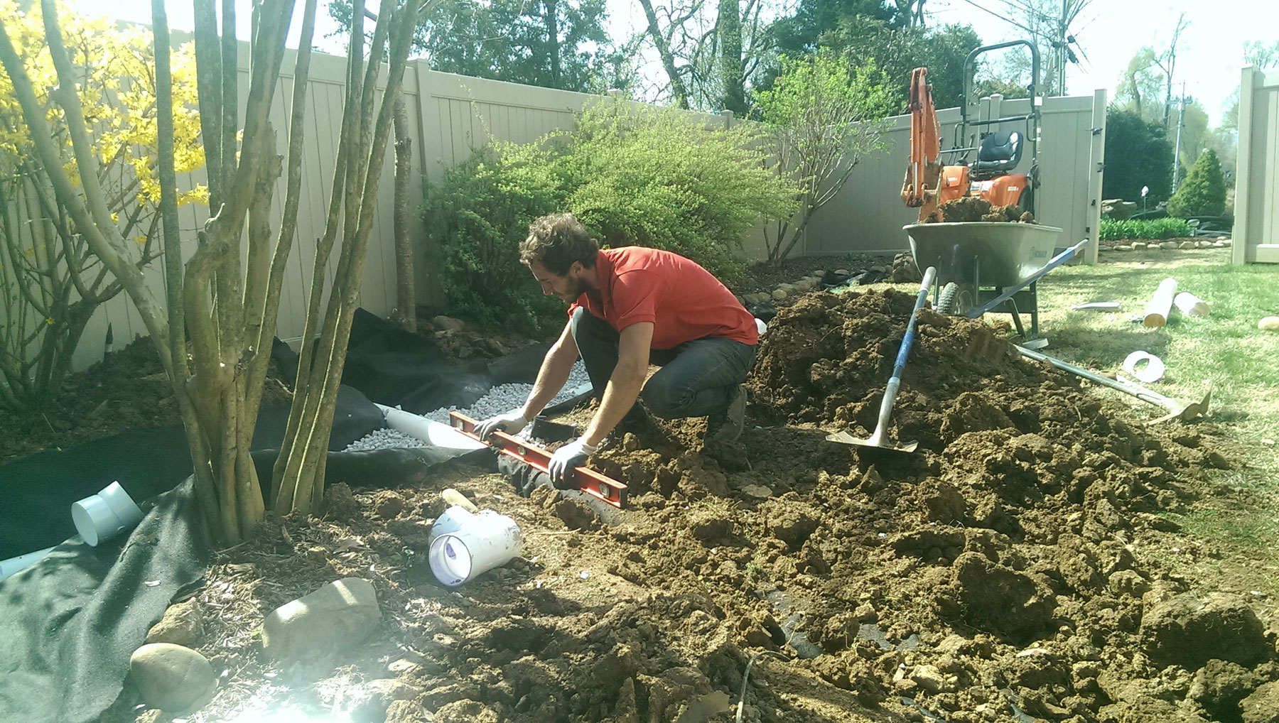 Drainage Solutions | Higher Ground Chattanooga
