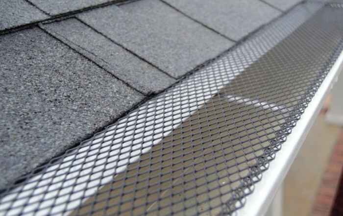 Steel mesh attached to gutter | Seamless Gutter and guard installation in Signal Mountain | Higher Ground of Chattanooga
